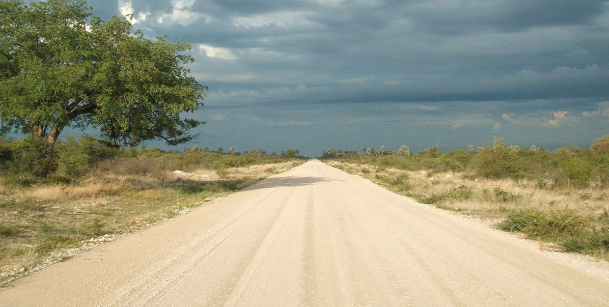 Travelling the African roads