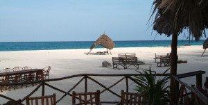 White sands of Zanzibar Island