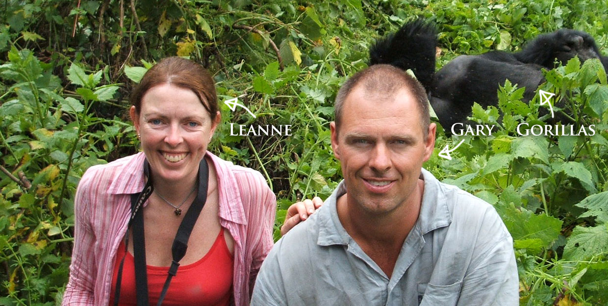 Gary and Leanne, Savannah Overland Expeditions