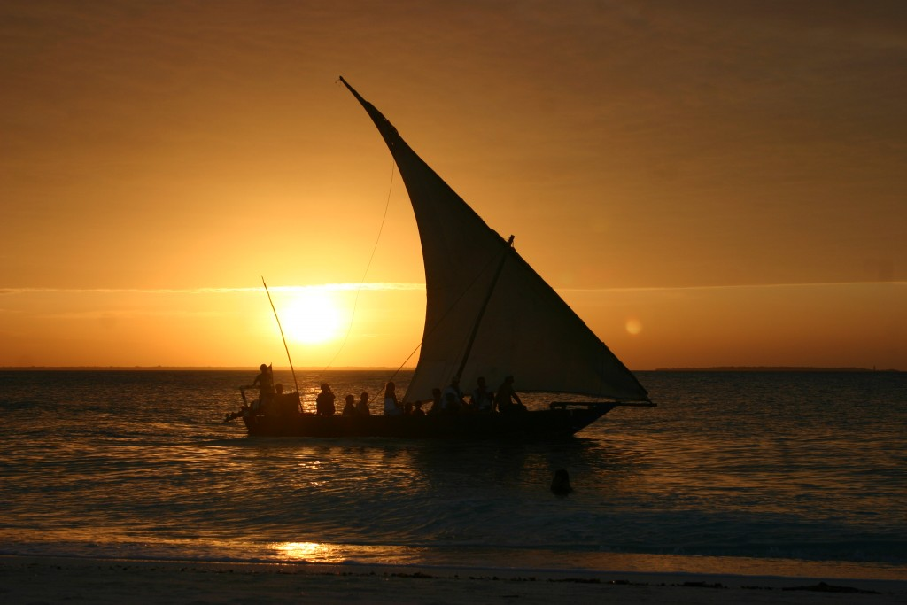 Sunset Cruising on Zanzibar Island